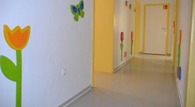 Kinderarzt_Muenchen_Praxisflur