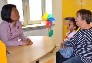 Kinderarzt Kinderarztpraxis München Igel Leistungen