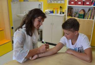 Kinderarzt Kinderarztpraxis München Behandlungsspektrum Allergien
